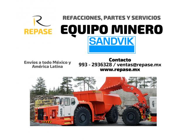 EQUIPO MINERO SANDVIK - 1/1