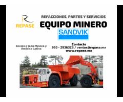 EQUIPO MINERO SANDVIK
