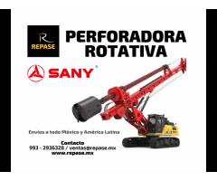 PERFORADORA ROTATIVA SANY