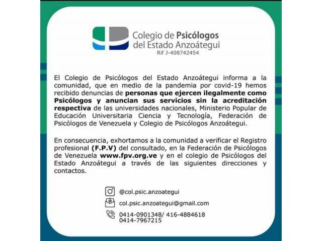Psicóloga clínica F.P.V.: 8.001 Niños, Adolescentes, Adultos, Parejas, Familias, Empresas e Insts - 3/3