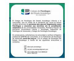 Psicóloga clínica F.P.V.: 8.001 Niños, Adolescentes, Adultos, Parejas, Familias, Empresas e Insts