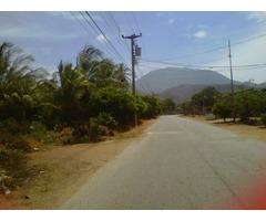 En venta excelente terreno en zona turística en la Isla de Margarita