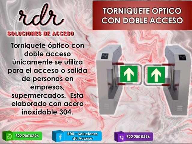 TORNIQUETE OPTICO CON DOBLE ACCESO- RDR SOLUCIONES DE ACCESO - 1/1