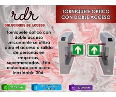 TORNIQUETE OPTICO CON DOBLE ACCESO- RDR SOLUCIONES DE ACCESO