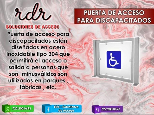 PUERTA DE ACCESO PARA DISCAPACITADOS - RDR SOLUCIONES DE ACCESO - 1/1