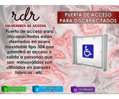 PUERTA DE ACCESO PARA DISCAPACITADOS - RDR SOLUCIONES DE ACCESO