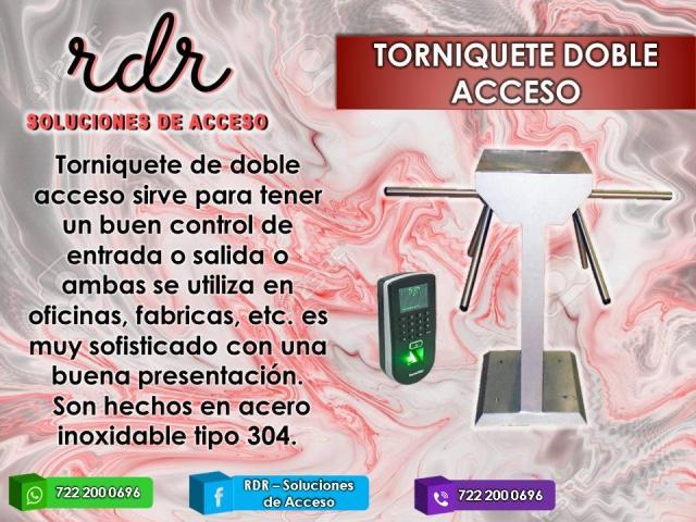 TORNIQUETE  DE DOBLE ACCESO- RDR SOLUCIONES DE ACCESO - 1/1