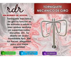 TORNIQUETE MECANICO DE GIRO- RDR SOLUCIONES DE ACCESO