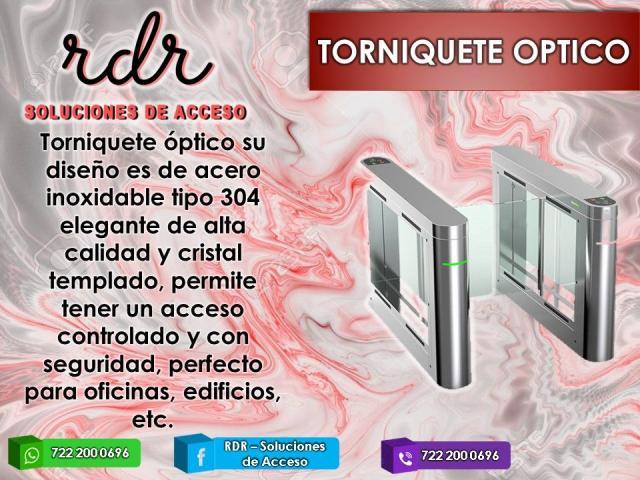 TORNIQUETE OPTICO- RDR SOLUCIONES DE ACCESO - 1/1