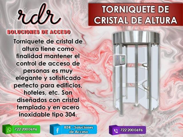 TORNIQUETE DE CRISTAL DE ALTURA - RDR SOLUCIONES DE ACCESO - 1/1