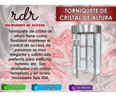 TORNIQUETE DE CRISTAL DE ALTURA - RDR SOLUCIONES DE ACCESO