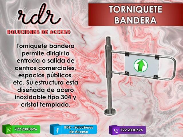 TORNIQUETE BANDERA- RDR SOLUCIONES DE ACCESO - 1/1