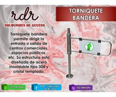 TORNIQUETE BANDERA- RDR SOLUCIONES DE ACCESO