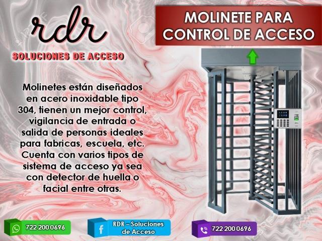 MOLINETE PARA CONTROL DE ACCESO  - RDR SOLUCIONES DE ACCESO - 1/1
