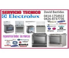 Reparacion y mantenimiento de cocinas a gas y electricas