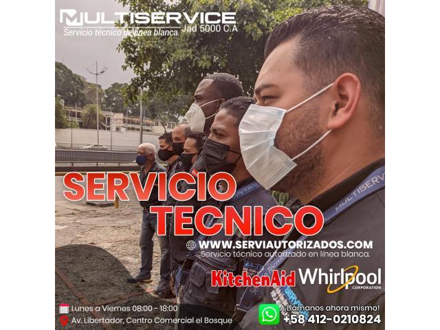 Servicio Técnico Especializado en Electrodoméstico de Línea Blanca Caracas Venezuela - 1/2