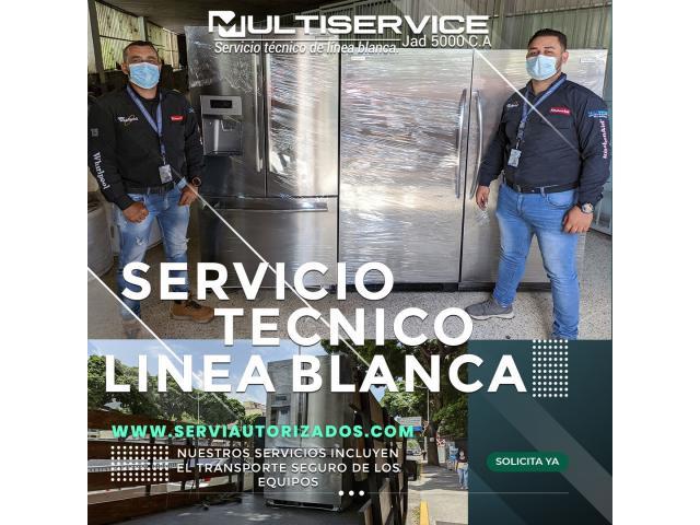 Servicio Técnico Especializado en Electrodoméstico de Línea Blanca Caracas Venezuela - 2/2