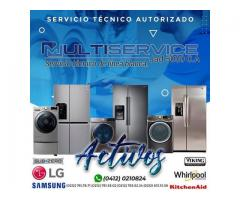 Multi Servicios en Electrodomésticos de Línea Blanca