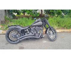 moto harley davidson, road king