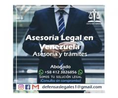 abogado penalista asitencia al investigado e imputado Caracas Venezuela