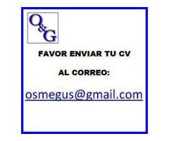 Importante empresa solicita GERENTE DE COMPRAS y SUMINISTROS