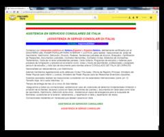 ABOGADO CONSULADO DE ITALIA, LEGALIZACIONES, APOSTILLA TRADUCCIONES DIVORCIOS