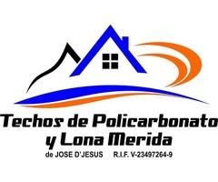 Techos De Policarbonato Y Lona Merida - Imagen 1/6