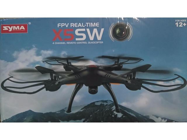 Drone Syma X5sw Fpv Real Time con wifi Vision En Tiempo Real alcance modificado a 200 mts NUEVO - 1/6