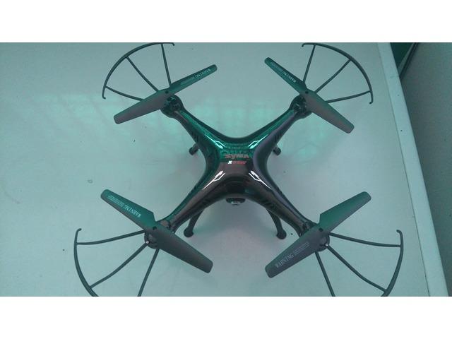 Drone Syma X5sw Fpv Real Time con wifi Vision En Tiempo Real alcance modificado a 200 mts NUEVO - 4/6