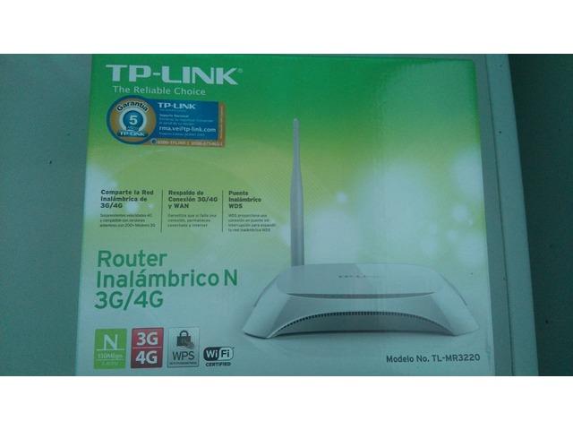 RAUTER TPLINK 3G Y 4 G NUEVO - 1/6