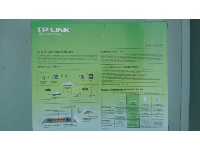 RAUTER TPLINK 3G Y 4 G NUEVO - 2/6