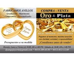 COMPRA Y VENTA DE ORO & PLATA al mejor precio en Caracas