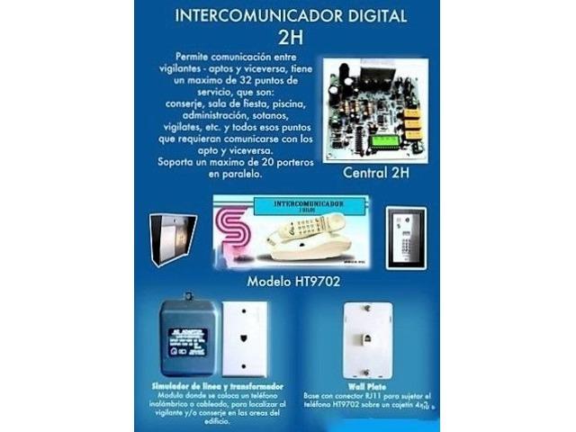 Teléfono Intercomunicador marca Sonalarm - 3/3