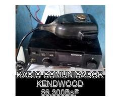 """*RADIO COMUNICADOR, Marca: """"KENDWOOD"""", ALCANZE DE 11Km EN 56.300BsF"""