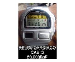 "*RELOJ CARDIACO Marca: ""CASIO"" EN 50.000BsF"