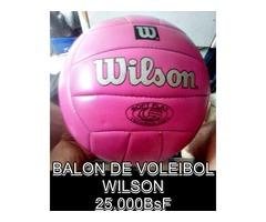"""*BALON DE VOLEIBOL Marca: """"WILSON"""" EN 25.000BsF"""