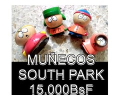 *MUÑECOS SOUTH PARK EN 15.000BsF