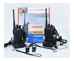 Radio Transmisor Vhf/uhf Fm Par Walkie Talkie Baofeng 888s