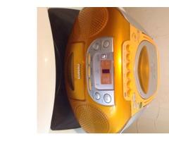 Radio casetera y cd Aiwa