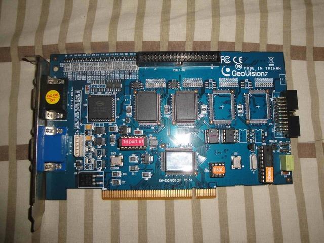 TARJETA CAPTURADORA GEOVISON GV-650/800 V 3.51 CAPACIDAD DE 16 CAMARAS - 1/2