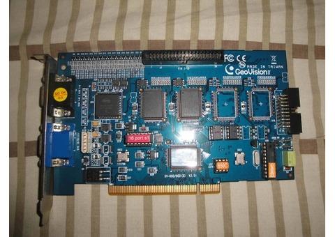 TARJETA CAPTURADORA GEOVISON GV-650/800 V 3.51 CAPACIDAD DE 16 CAMARAS