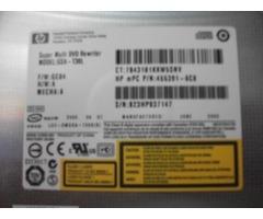 Unidad Lectora CD-DVD-Quemadora HP Modelo GSA-T30L
