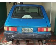 CARRO FIAT SPAZIO  1300 CC