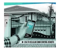 TU CELULAR COMO CONTROL REMOTO, para urbanizaciones, empresas y Centros comerciales