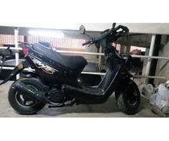 BERA BWS 150cc Negra 2250 Km 2012 1.250.000