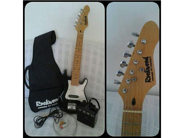 Para Niños!! el regalo para tu hijo para Navidad!... Guitarra Eléctrica para niños con Amplificador. - 1/1