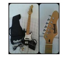 Para Niños!! el regalo para tu hijo para Navidad!... Guitarra Eléctrica para niños con Amplificador.