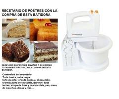 BATIDORA CON PEDESTAL PREMIER 2.7 LT DE CAPACIDAD