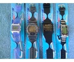 Relojes deportivos todos resistentes al agua