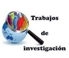TESIS DE GRADO, TESINAS, MONOGRAFÍAS, TRABAJOS DE INVESTIGACIÓN